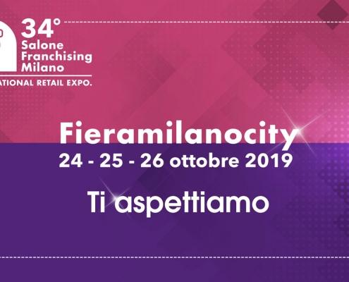 Banner con date de Salone Franchising 2019